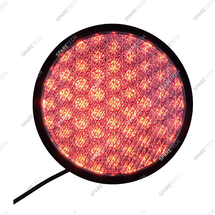 LED Ampel rot 200mm,  220V